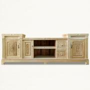 Kệ-tivi-gỗ-sồi-KTC02-Dài-200cm-Sâu-40cm-Cao-76cm